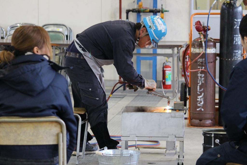 ガス 溶接 技能 講習 ガス溶接技能講習 一般社団法人 東京技能講習協会